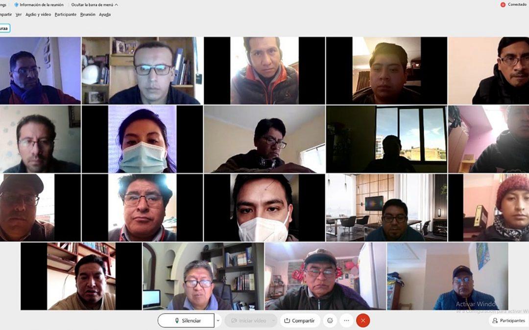 TED-Oruro refuerza protocolos sanitarios ante incremento de casos de la COVID19