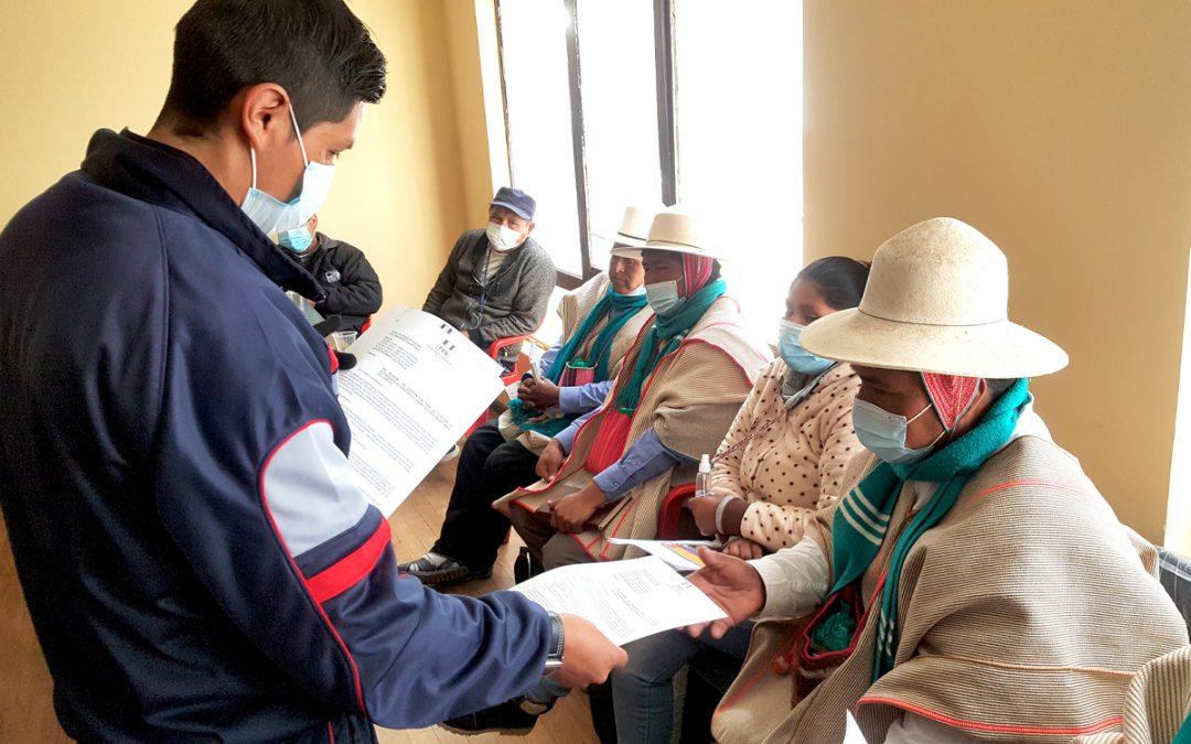 El TED-Oruro desarrollará reuniones con autoridades indígenas originarias de Uru-Chipaya y GAIOCSA