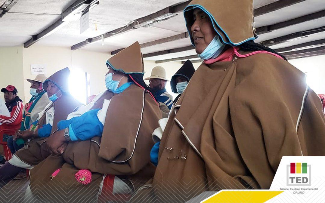 Nación Originaria Uru-Chipaya encara segunda elección de autoridades de la historia de su Autonomía
